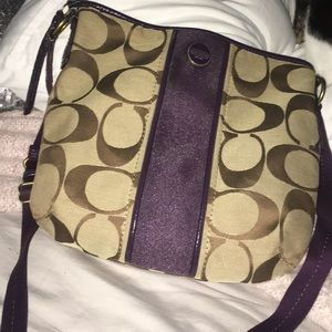 coach original purse never used cross body purse